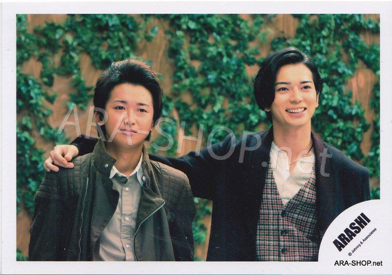 SHOP PHOTO - ARASHI - PAIRINGS - TOSHIUE&SHITA PAIR #021