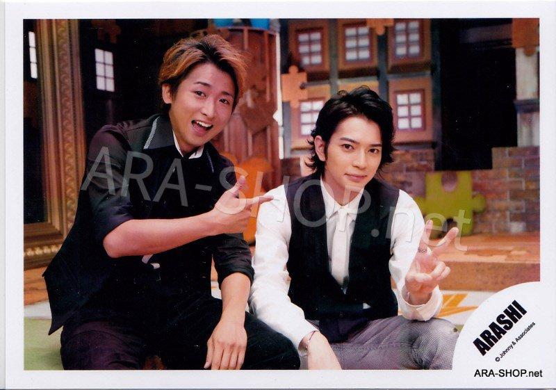 SHOP PHOTO - ARASHI - PAIRINGS - TOSHIUE&SHITA PAIR #022