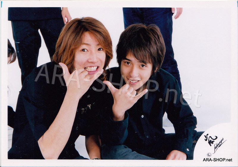 SHOP PHOTO - ARASHI - PAIRINGS - AIMIYA #010