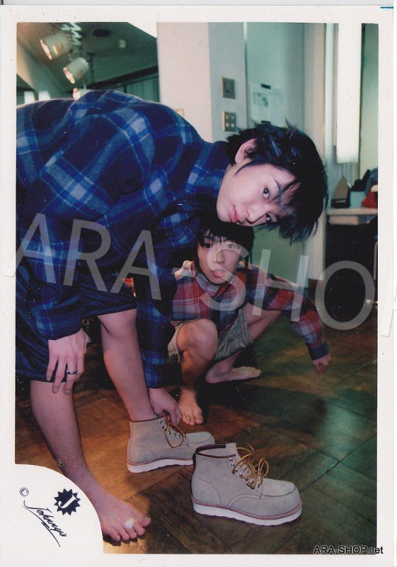 SHOP PHOTO - ARASHI - PAIRINGS - CRYBABY PAIR #001