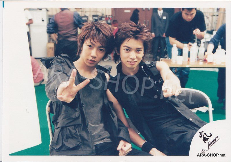 SHOP PHOTO - ARASHI - PAIRINGS - CRYBABY PAIR #006