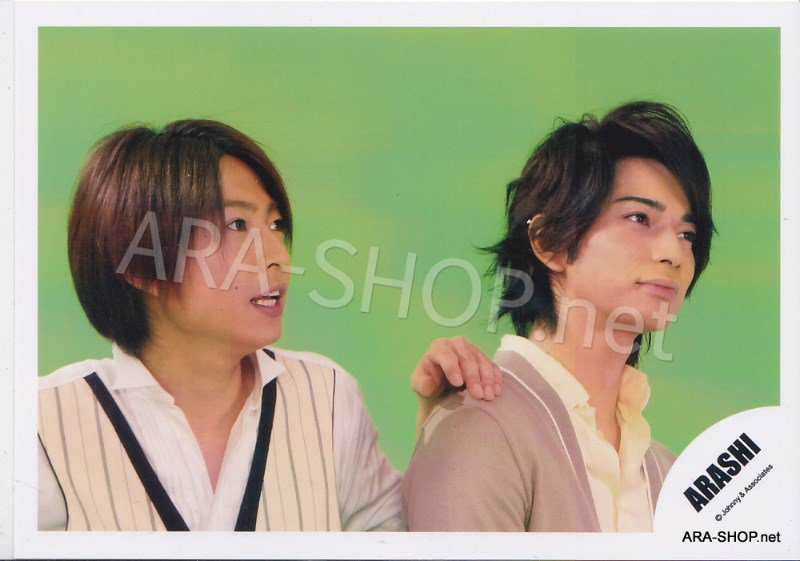 SHOP PHOTO - ARASHI - PAIRINGS - CRYBABY PAIR #017