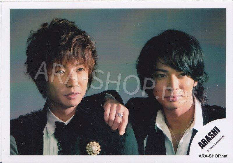 SHOP PHOTO - ARASHI - PAIRINGS - CRYBABY PAIR #020