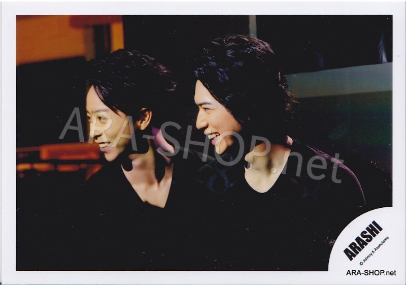 SHOP PHOTO - ARASHI - PAIRINGS - BAMBI PAIR #011