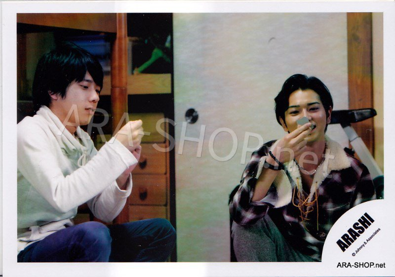 SHOP PHOTO - ARASHI - PAIRINGS - MATSUMIYA #014