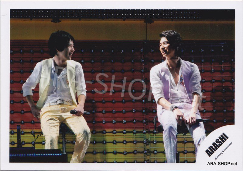 SHOP PHOTO - ARASHI - PAIRINGS - MATSUMIYA #015