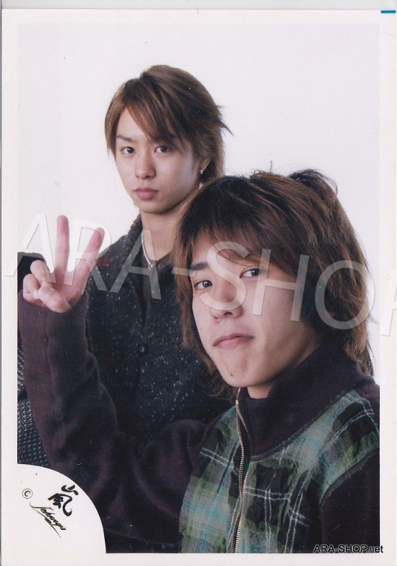 SHOP PHOTO - ARASHI - PAIRINGS - SAKUMIYA #012