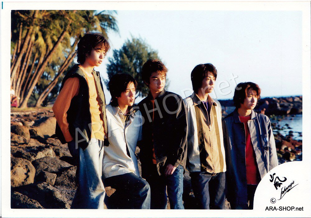 SHOP PHOTO - ARASHI - DEBUT in HAWAII 1999 #080