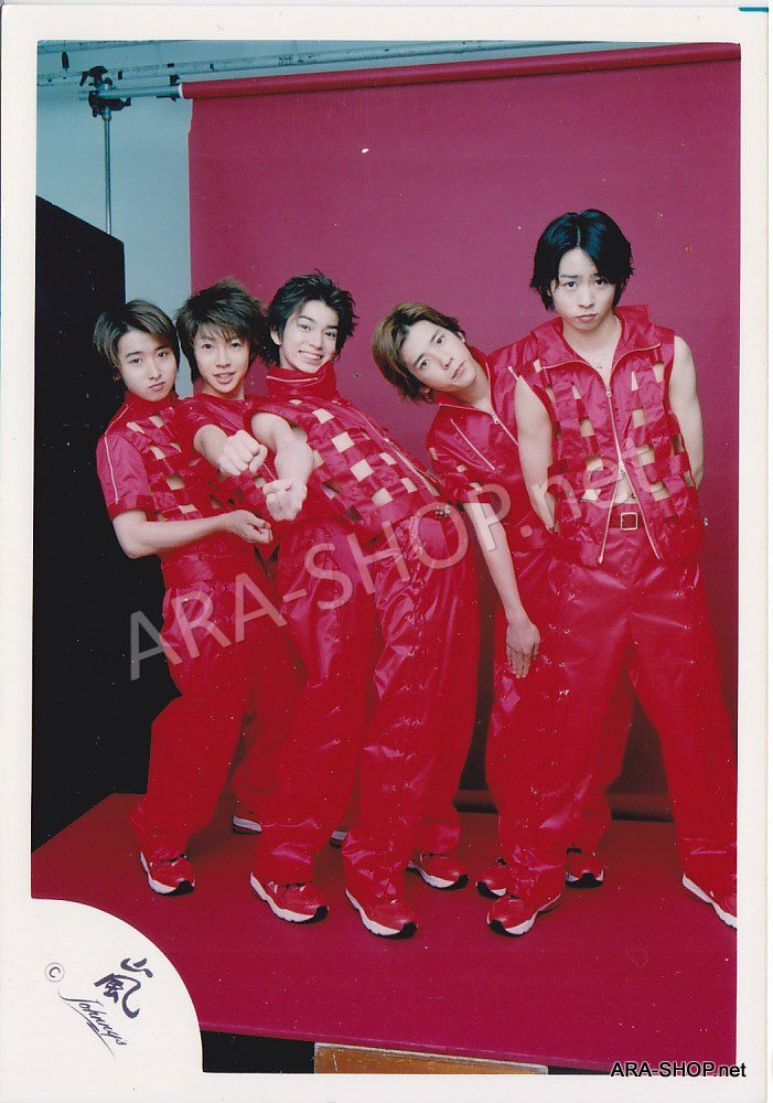 SHOP PHOTO - ARASHI - GROUP & MIX #098