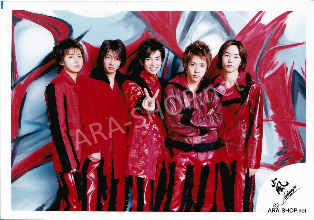 SHOP PHOTO - ARASHI - GROUP & MIX #102