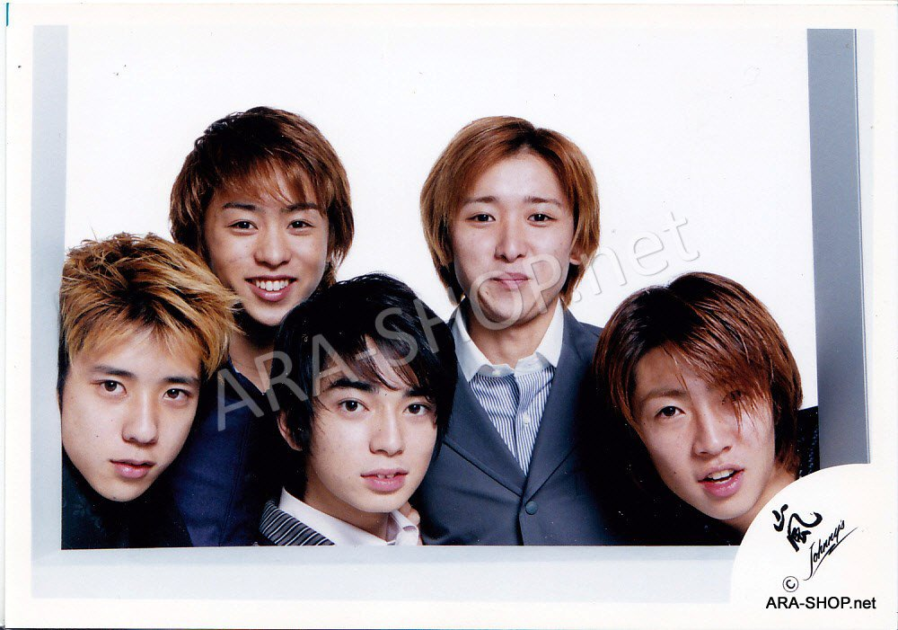 SHOP PHOTO - ARASHI - 2001 ~ 2002 JOIN THE STORM #141