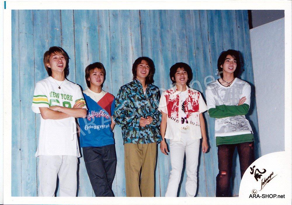 SHOP PHOTO - ARASHI - 2002 HERE WE GO  #163