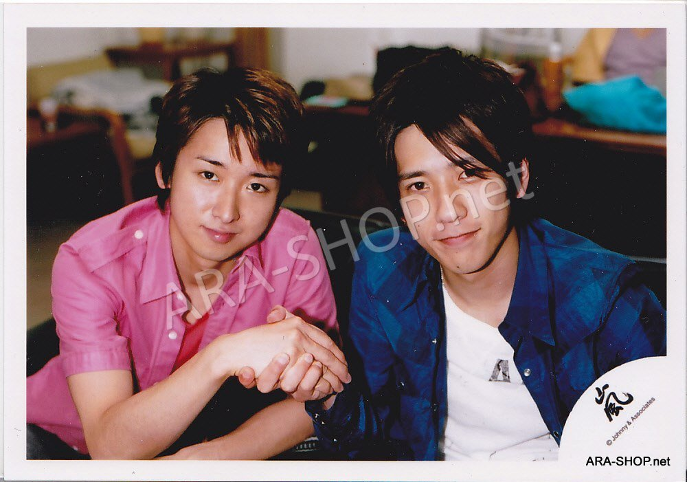 SHOP PHOTO - ARASHI - PAIRINGS - OHMIYA #003