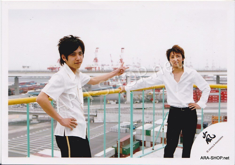 SHOP PHOTO - ARASHI - PAIRINGS - OHMIYA #002