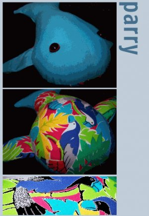 Parry the Happy Whale + Paper Gift Wrap