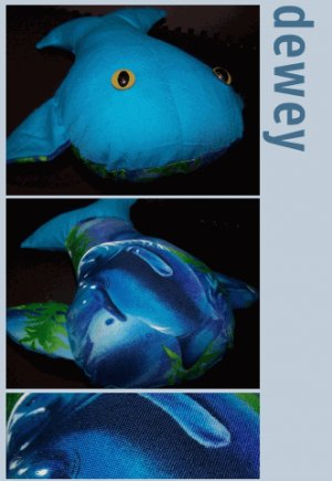 Dewey the Happy Whale + Paper Gift Wrap