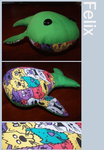 Felix the Happy Whale + Cellophane Gift Wrap