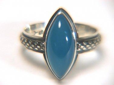 Botswana Agate Sterling Ring