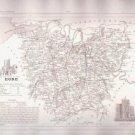 EURE FRANCE 1835 Antique Atlas Map Maps Cartography