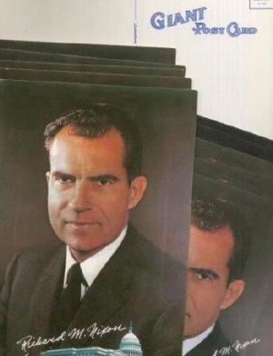 5 Bachrach Photo portrait President Richard M Nixon GIANT Postcards Post Card