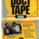 THE DUCT TAPE BOOK Humor Cheap Repairs Made Simple
