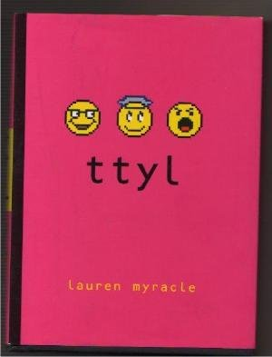 TTYL High School Instant Message Young Adult Funny BOOK