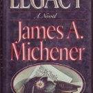 LEGACY JAMES MICHENER HCDJ Political Novel 1st ed book