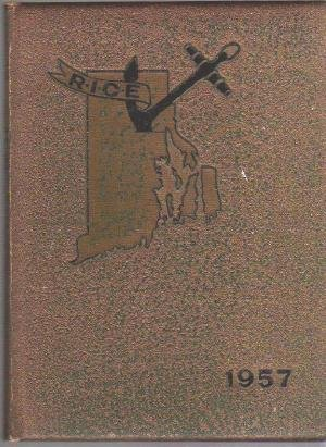 1957 RICOLED RIC RICE RI College of Education Year Book