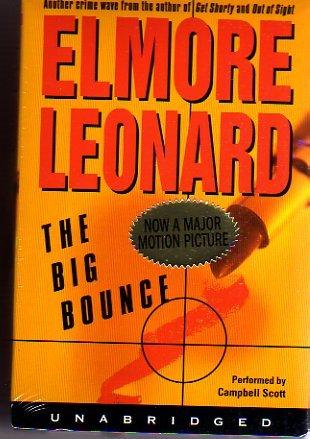 The Big Bounce Elmore Leonard Unabridged Audiobook NEW