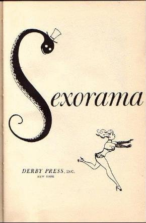 SEXORAMA Vintage Mens Jokes Cartoons Humor Book 1955