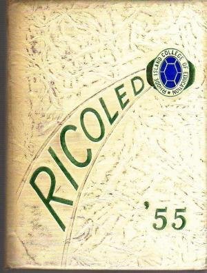 1955 RICOLED RIC RICE RI College of Education Year Book
