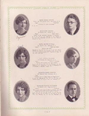 1928 CRANSTON RI HIGH SCHOOL YEAR BOOK YEARBOOK