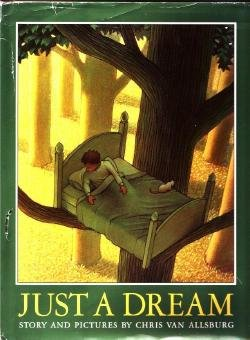 JUST A DREAM 1990 CHRIS VAN ALLSBURG HCDJ Book