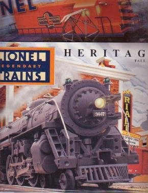 Lionel Fall 1997 Electric Toy RR Model Trains Catalogs