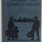 IMMIGRANTS ENGISH PRIMER 1921 American History Book