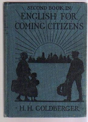 IMMIGRANTS ENGISH PRIMER 1921 American History Book