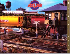 Atlas O Gauge Electric Toy RR Model Trains Catalog 1998