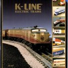 1995 K-LINE FIRST EDITION Electric Toy RR Model Trains Catalog
