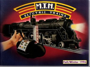 Fall-Winter 1996 M.T.H. MTH  Electric Toy RR Model Trains Catalog