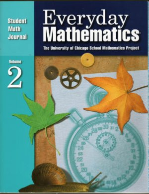 Everyday Mathematics Student Math Journal 2 Grade 5 ISBN 1570399158 Free Shipping