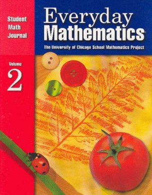 Everyday Mathematics Student Math Journal 2 ISBN 1570398224 Grade 1 Free Shipping