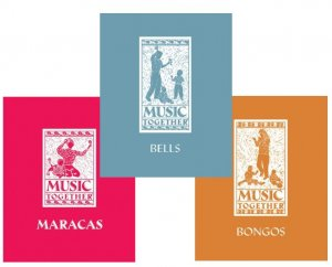Music Together 3 Book Set Maracas Bongos Bells