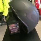 Biker/Vintage Style Ranger Nocturn - Size S - Helmet in Matte Black /w Flames