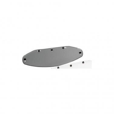 Echo 5-snap Flat Shield - Smoke