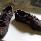 EUC - COACH *PAXTON* Brown Signature *C* Canvas Athletic Shoes - Size 6M