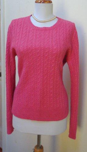 EUC -EXPRESS DESIGN STUDIO Heather Pink Cashmere Blend Crewneck Sweater - Size L