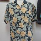 VGUC-TOMMY BAHAMA Multi-Color 100% Cotton 3-Button Short Slv Polo Shirt - Size S