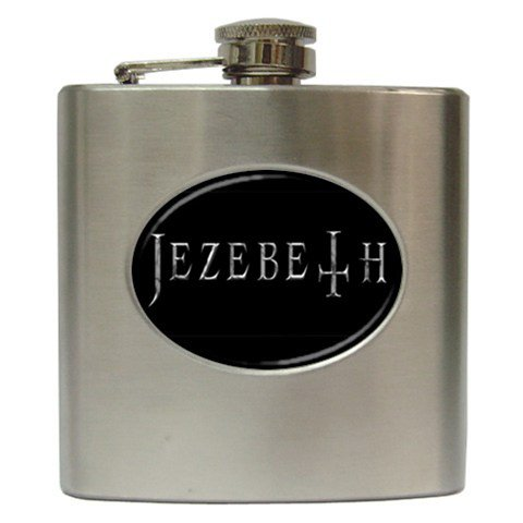 Jezebeth Hip Flask 6 oz
