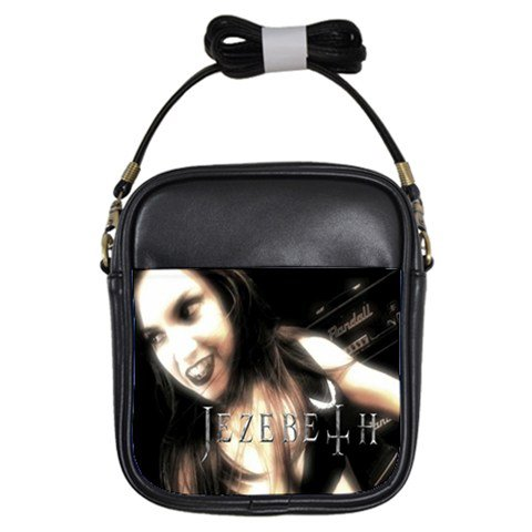 Jezebeth Leather Sling Bag