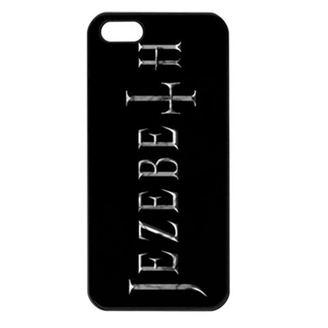 Jezebeth iphone 5 Seamless Case Black